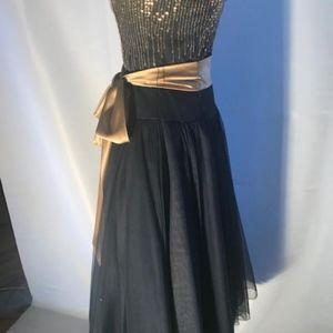 Junior size formal dress